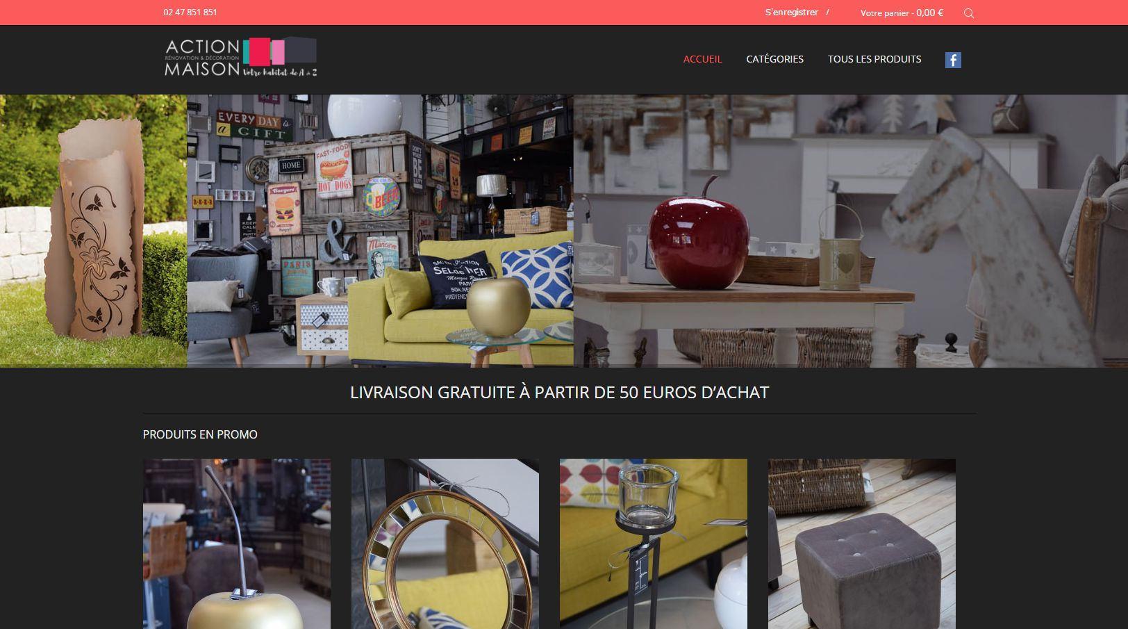 Action maison shop magasin de vente en ligne for Actions maisons
