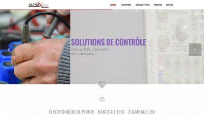 ALPHATEST - Électronique de pointe Bancs de test Éclairage LED