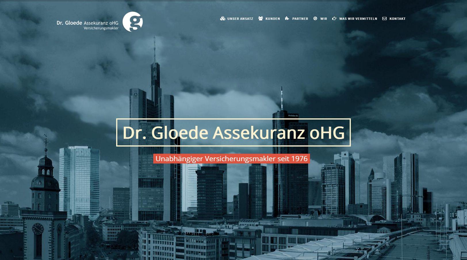 Dr Gloede - Assekuranz oHG Frankfurt am Main