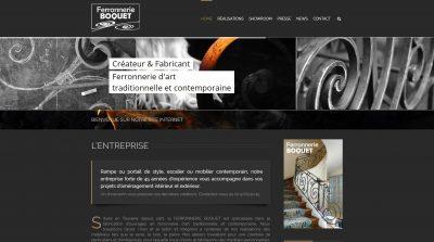 FERRONNERIE BOQUET - Ferronnier d'art traditionnel et contemporain