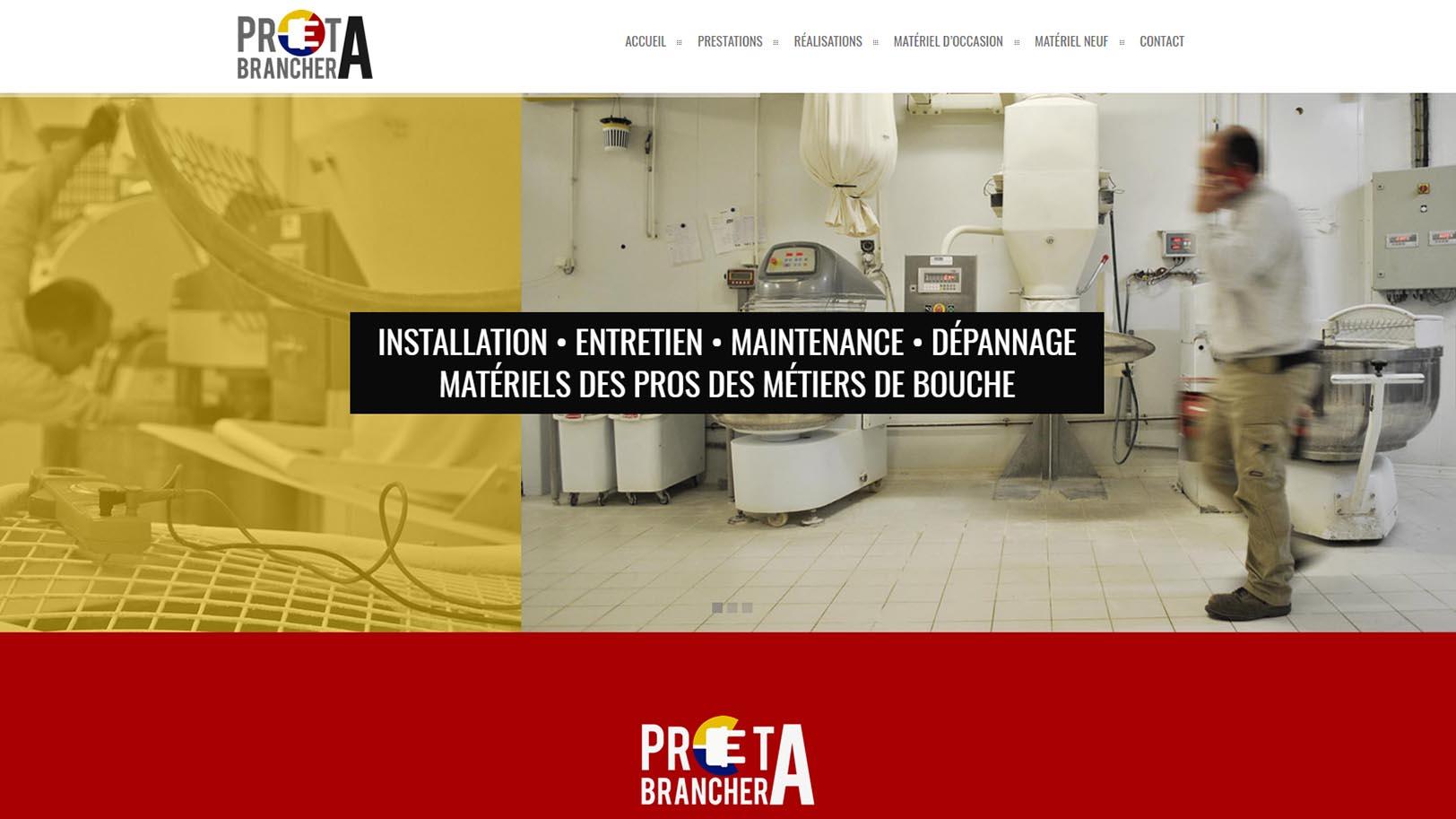 Prêt-à-Brancher - Dépannage Boulangeries Boucheries