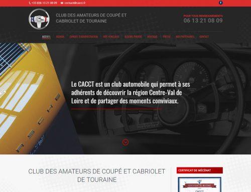 CLUB DES AMATEURS DE COUPÉ ET CABRIOLET DE TOURAINE
