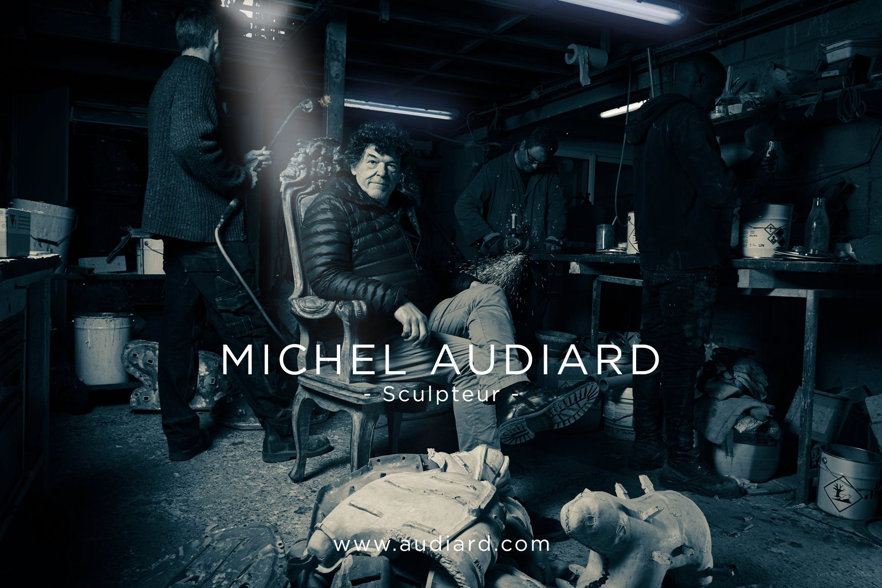Atelier Michel Audiard - Sculpteur