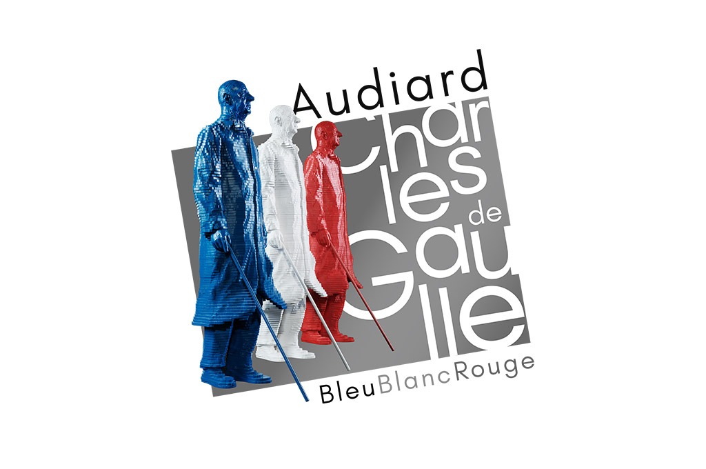 Logo De Gaulle Bleu Blanc Rouge