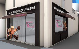 Projet de façade Boulangerie & Pâtisserie