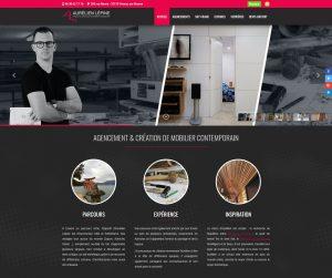 Site internet Aurélien Lépine